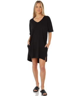 BLACK OUTLET WOMENS SWELL DRESSES - S8183450BLACK