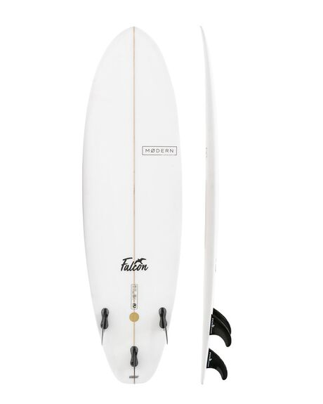 CLEAR BOARDSPORTS SURF MODERN GSI SURFBOARDS - MD-FALCPU-CLR