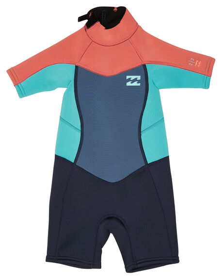 0956d64f63 ... Synergy Back Zip Spring Suit Wetsuit. Share new  SUGAR CORAL  BOARDSPORTS SURF BILLABONG TODDLER GIRLS - 5781401SGCRL sale retailer 768dc  7d91d ...