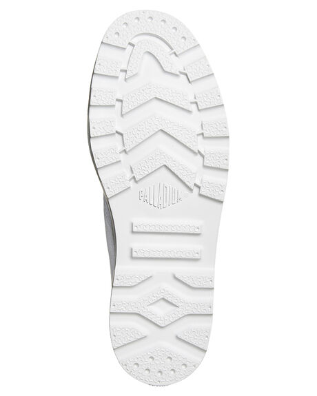WHITE WHITE WOMENS FOOTWEAR PALLADIUM SNEAKERS - 93315-154