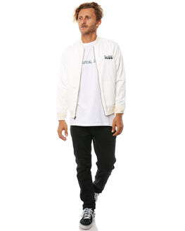 BLANC MENS CLOTHING THE CRITICAL SLIDE SOCIETY JACKETS - JK1806BLNC