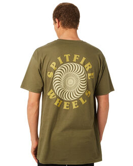 MILITARY GREEN MENS CLOTHING SPITFIRE TEES - OGCLASSMGRN