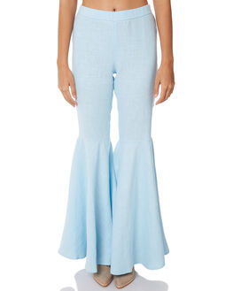 CORNFLOWER OUTLET WOMENS WILDE WILLOW PANTS - K338-BCORN