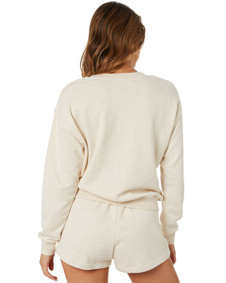 NATURAL MARLE WOMENS CLOTHING SWELL JUMPERS - S8213450NMARL