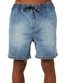 BLUE WASH MENS CLOTHING RUSTY SHORTS - WKM0989BUW
