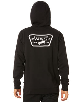 BLACK MENS CLOTHING VANS JUMPERS - VN0A45CJBLKBLK