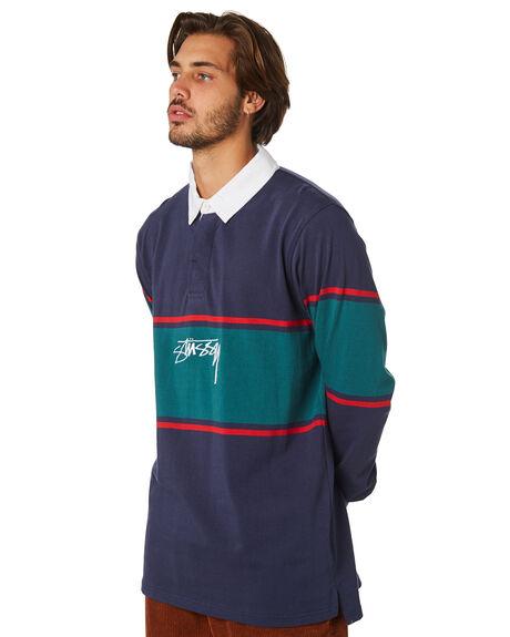BLUE NIGHTS MENS CLOTHING STUSSY SHIRTS - ST097109BLN