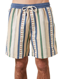 NATURAL MENS CLOTHING NO NEWS BOARDSHORTS - N5201232NATRL