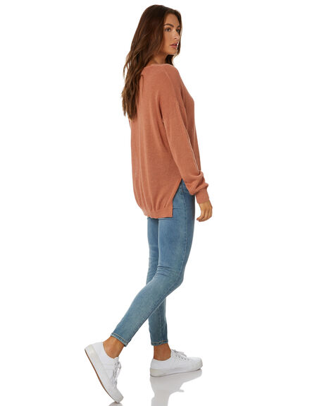LIGHT TERRA WOMENS CLOTHING RUSTY KNITS + CARDIGANS - CKL0338LTE