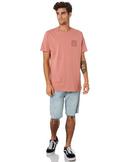 PEACH CORAL MENS CLOTHING SWELL TEES - S5201021PCHCL
