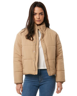 GOLDRUSH WOMENS CLOTHING RVCA JACKETS - R283436GOLD