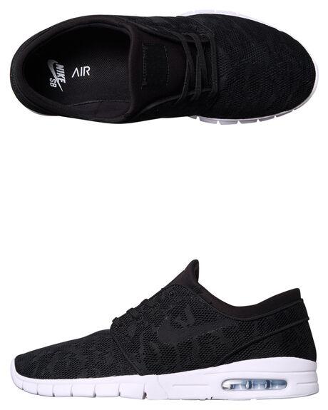 BLACK WHITE WOMENS FOOTWEAR NIKE SNEAKERS - SS631303-022W