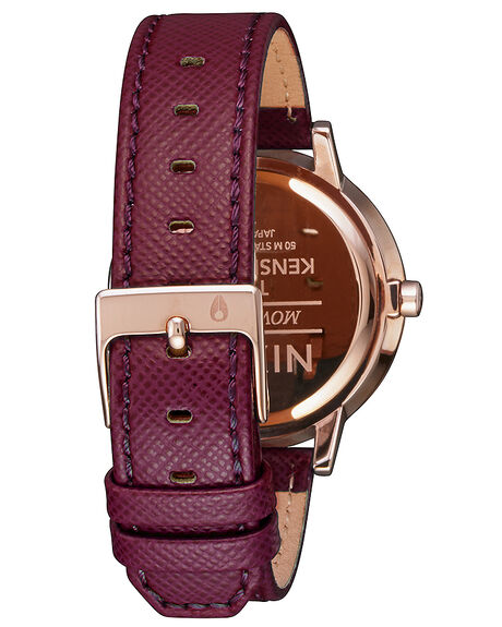 ROSE GOLD BORDEAUX WOMENS ACCESSORIES NIXON WATCHES - A1082479