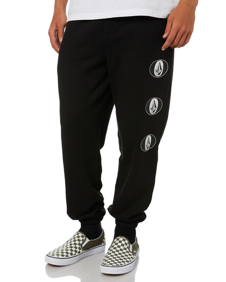 BLACK MENS CLOTHING VOLCOM PANTS - A1232001BLK