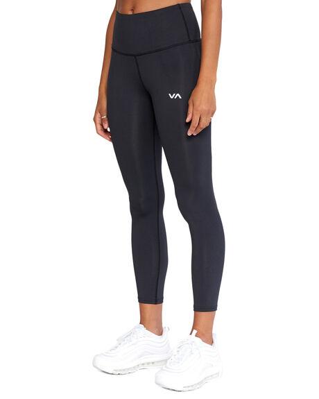 BLACK WOMENS CLOTHING RVCA ACTIVEWEAR - RV-R417278-BLK