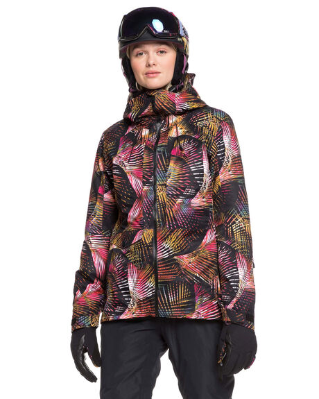 TRUE BLACK PALM BOARDSPORTS SNOW ROXY WOMENS - ERJTJ03210-KVJ1