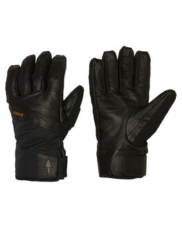 BLACK BOARDSPORTS SNOW POW GLOVES - RYG-A-L-GTX-BKBLK