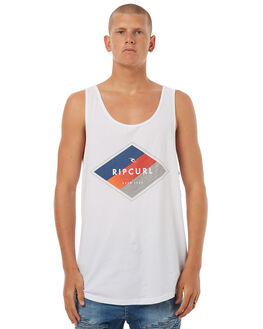 WHITE MENS CLOTHING RIP CURL SINGLETS - CTEGZ21000
