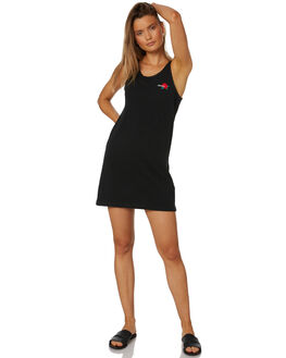 BLACK WOMENS CLOTHING VOLCOM DRESSES - B1331801BLK