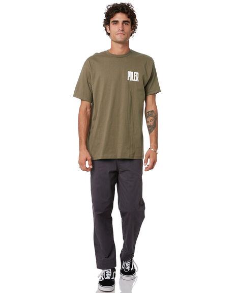 MOSS MENS CLOTHING POLER TEES - 211APM2003-MOS