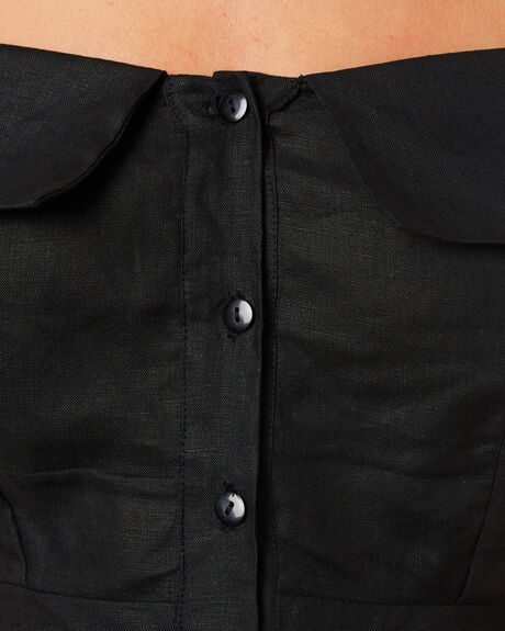 BLACK OUTLET WOMENS LILYA DRESSES - LND08-PRSS18-BL