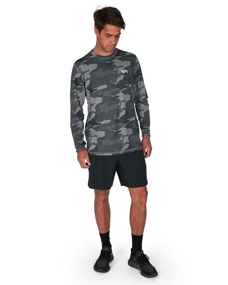 CAMO MENS CLOTHING RVCA TEES - RV-R307091-CMO