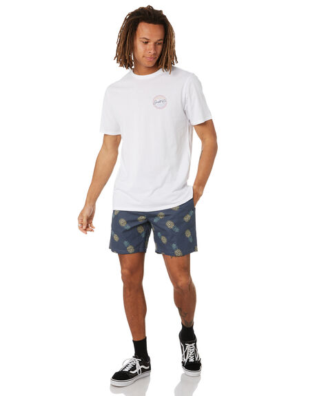 WHITE MENS CLOTHING SWELL TEES - S5222002WHT
