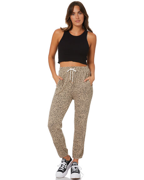 ANIMAL PRINT WOMENS CLOTHING VOLCOM PANTS - B1212104ANM