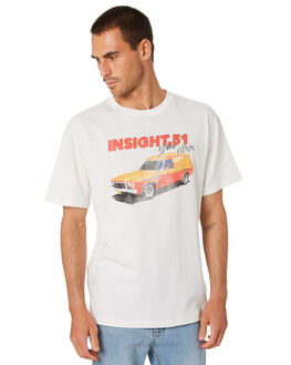 WHITE MENS CLOTHING INSIGHT TEES - 5000005128WHT