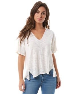 WHITE WOMENS CLOTHING FREE PEOPLE TEES - OB7747021100