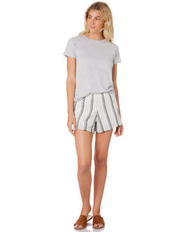 STRIPE WOMENS CLOTHING NUDE LUCY SHORTS - NU23481STR