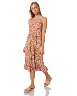 RUNAWAY FLORAL WOMENS CLOTHING THE HIDDEN WAY DRESSES - H8188445RUNFL