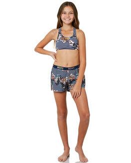 MEDIEVAL BLUE BDWALK KIDS GIRLS ROXY SHORTS + SKIRTS - ERGBS03054BTE6