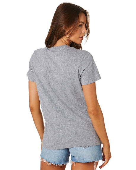 GREY MARLE WOMENS CLOTHING AS COLOUR TEES - 4001GREYM