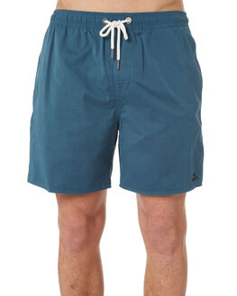 OCEAN TEAL MENS CLOTHING RVCA BOARDSHORTS - R182414OCTEA