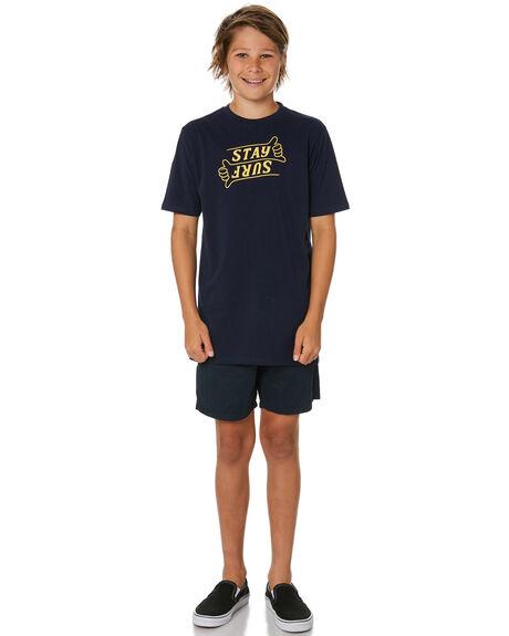 MIDNIGHT KIDS BOYS STAY TOPS - STE-20311-YMDN