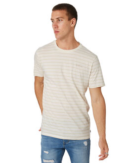 BEIGE OUTLET MENS SWELL TEES - S5182015BEIGE