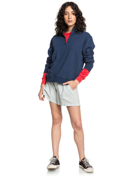 MIRAGE GRAY WOMENS CLOTHING QUIKSILVER SHORTS - EQWNS03014-SHB0