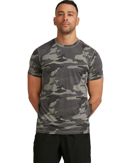 CAMO MENS CLOTHING RVCA TEES - RV-R307041-CMO
