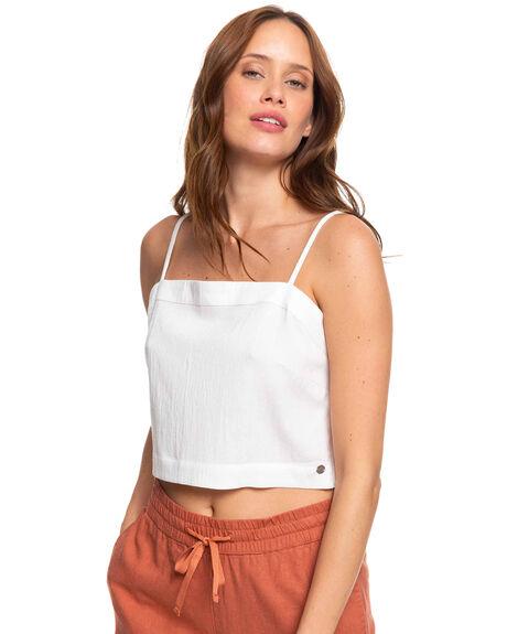 SNOW WHITE WOMENS CLOTHING ROXY SINGLETS - ERJWT03365-WBK0