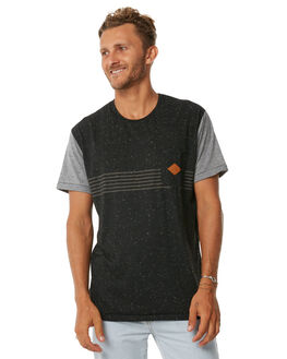 BLACK MENS CLOTHING IMPERIAL MOTION TEES - 201702006019BLK