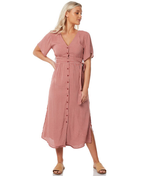 LUCY STRIPE WOMENS CLOTHING THE HIDDEN WAY DRESSES - H8183445LSTRP