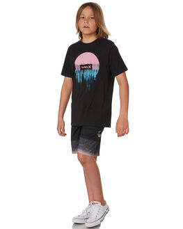 BLACK KIDS BOYS HURLEY TOPS - CK0956010