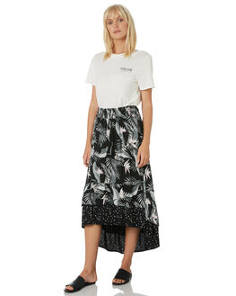 BLACK WOMENS CLOTHING VOLCOM SKIRTS - B1431975BLK