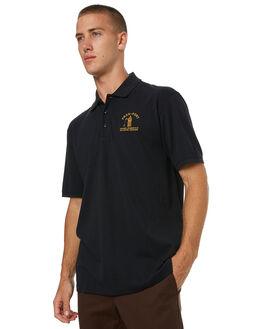 BLACK MENS CLOTHING PASS PORT SHIRTS - INWARDBLK