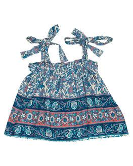 INDAH BLUE KIDS TODDLER GIRLS SWEET CHILD OF MINE TOPS - BONNIETOP-IND