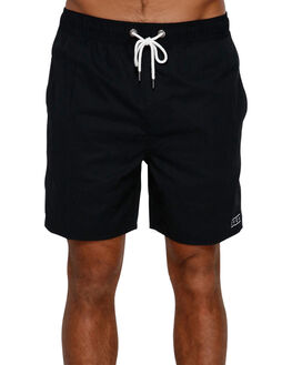 RVCA BLACK MENS CLOTHING RVCA BOARDSHORTS - R393400RVBLK
