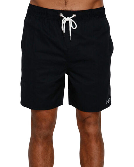 RVCA BLACK MENS CLOTHING RVCA BOARDSHORTS - R393400RVBLK