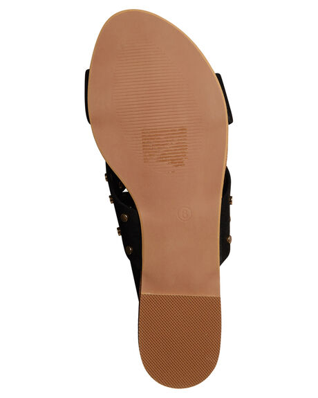 BLACK SUEDE WOMENS FOOTWEAR BILLINI FASHION SANDALS - S488BLKSD
