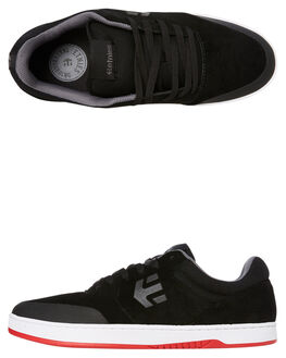 BLACK WHITE MENS FOOTWEAR ETNIES SKATE SHOES - 4101000403978